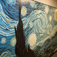 Starry Night — A mural on Fifth East